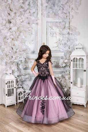 Детское нарядное платье КАМЕЛИЯ, дитячі сукні, опт, дропшиппинг