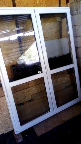 Drzwi okno tarasowe balkonowe z roletą
