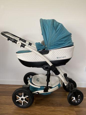 Wózek gondola + spacerówka 2w1 babyactive shell