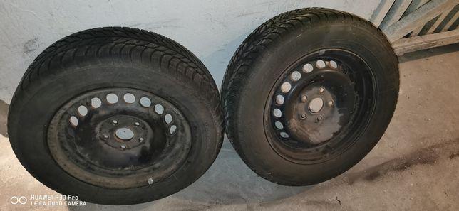 """Koła zimowe 15"""" 5x112 et43, Dębica frigo 2 VW Skoda audi"""