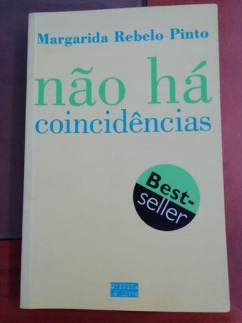 Livro Não há coincidências de Margarida Rebelo Pinto