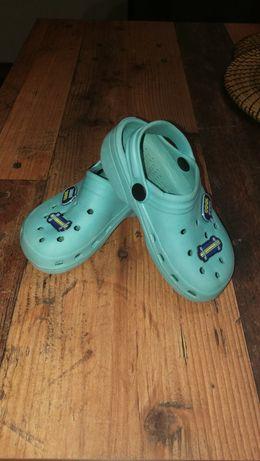 Buty gumowe piankowe r27 na basen do wody