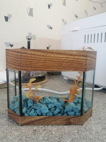 Мини аквариум 2л