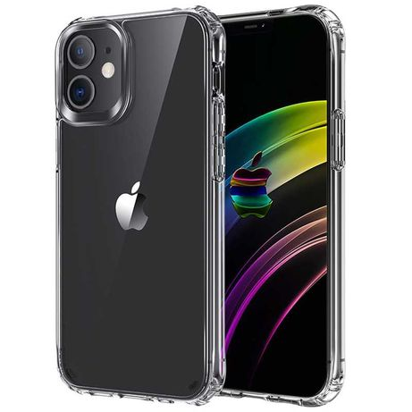 ETUI CASE do iPhone 11/12 Pro Crystal jak SPIGEN z Airbag