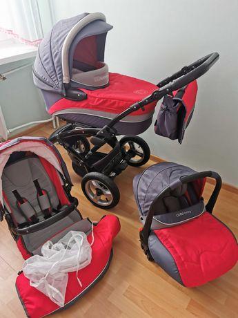 Messina Zestaw 3w1 Wózek dziecięcy (Gondola, spacerówka, nosidełko)