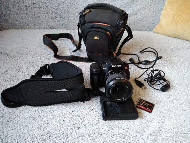 Aparat fotgraficzny Sony alfa 350 akcesoria