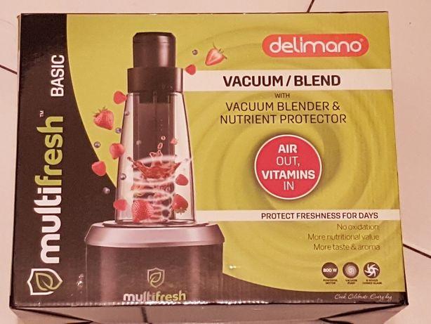 Blender/ekstraktor próżniowy Multifresh basic DELIMANO