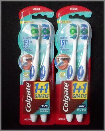 NOWA Szczoteczka do zębów COLGATE 360 Whole Mouth Clean.