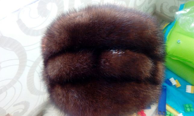 Норкова шапка.Норковая шапка.