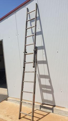 Escada alumínio 3 lances