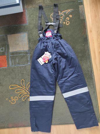 Spodnie BHP zimowe r.S NOWE antystatyczne