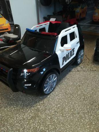 Oryginalny samochód Policyjny na akumulator Megafon Policyjne Świata