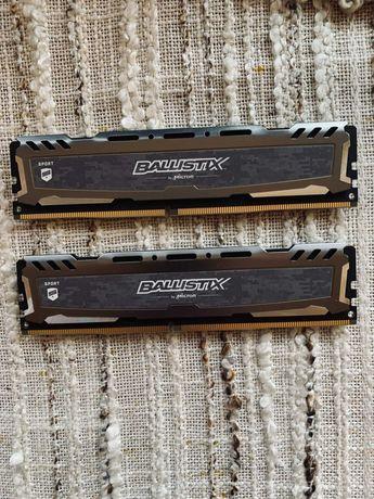 Pamięć RAM  Ballistix 2 x 4GB 2666 MHz DDR3