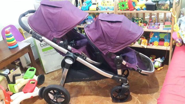 Коляска Baby Jogger City Select double для двоихдеток,двойни,близнецы!