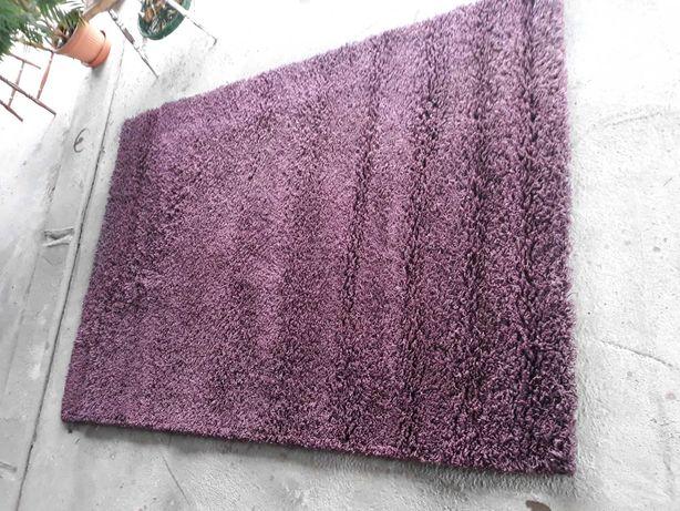 Dywan Shaggy 160×230 fioletowy wyprany