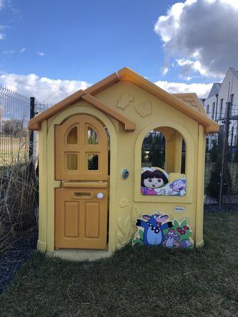 Domek ogrodowy little tikes dora poznaje świat plac zabaw