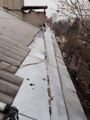 Мелкий ремонт крыш и балконов.