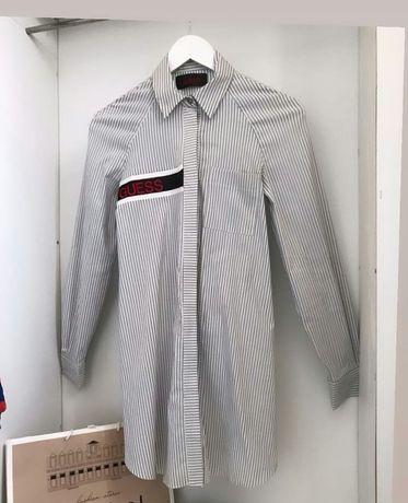 Guess плать рубашка