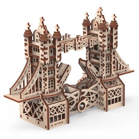 Механический 3D конструктор пазл Тауэрский мост S Mr.Playwood