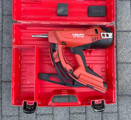 Osadzak gazowy gwoździarka do betonu Hilti GX 120 ME walizka FAKTURA