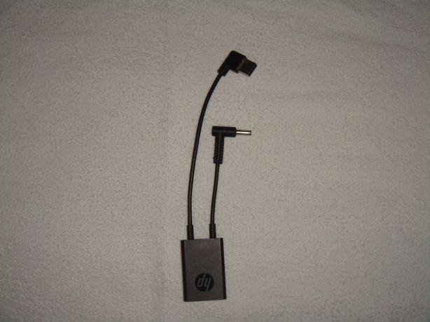 HP 4.5 mm and USB-C Dock Adapter G2 Com fios USB 3.0