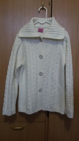 Тёплая новая кофта для девочки 140-146 cм, Ada yildiz,Турция