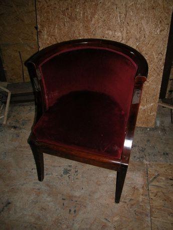 Fotel biedermeier