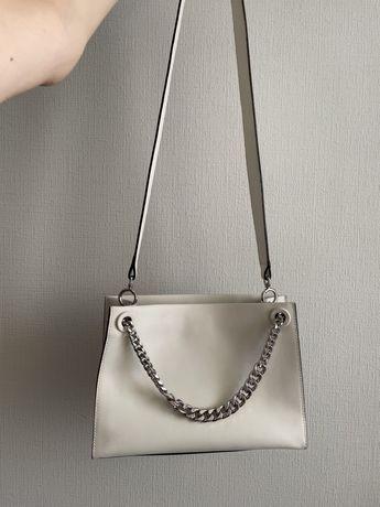Кожаная сумка Estro (не Zara Mango)