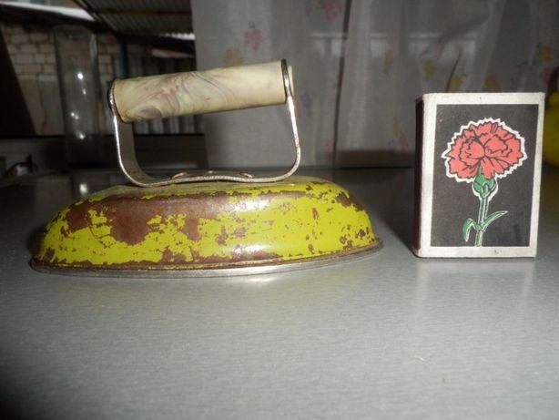 игрушка детский утюжок СССР