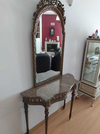Movel de entrada com espelho
