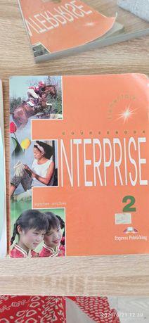 Підручники англійськоїInterprise 2 workbook ,cousebook  300грн