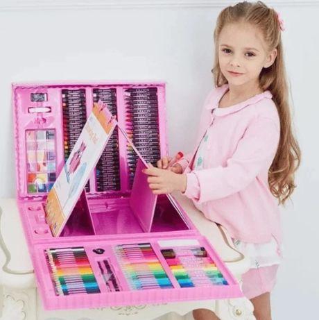 """Набор для детского творчества в чемодане из 208 предметов """"Чемодан тво"""