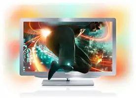 "Telewizor Ambilight LED Philips 32PFL9606K/02 32 "" Full HD srebrny"