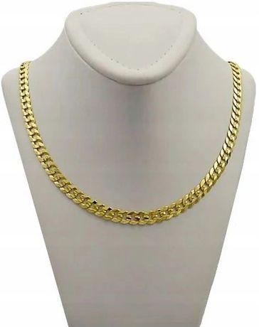 Złoty Łańcuszek PANCERKA GĘSTA / pr. 585 + GRAWER