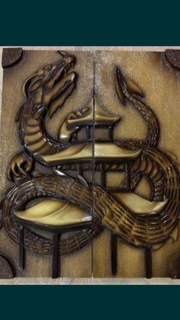 Backgammoni nardy ręcznie robione