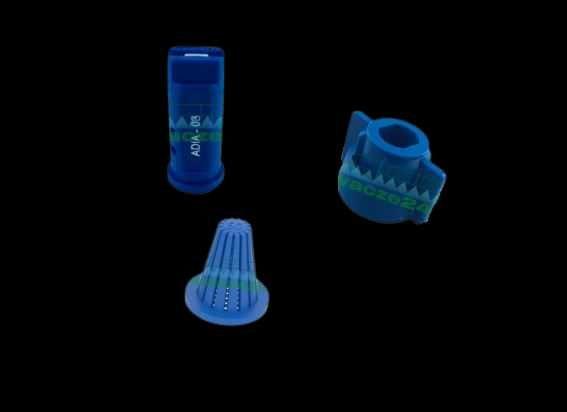 Zestaw dysza + kołpak + filterek