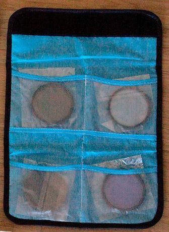 3 Filtros + proteção de lente para objetivas 58mm