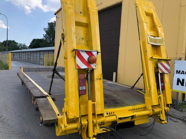 Przyczepa ciężarowa niskopodwozie Langendorf