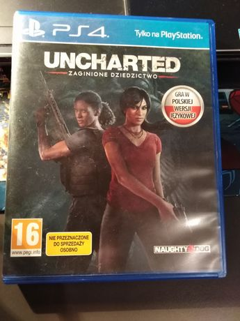 Gra Uncharted PS 4