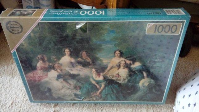 Puzzle Galerry 1000 stare angielskie ale ofoliowane 48/68