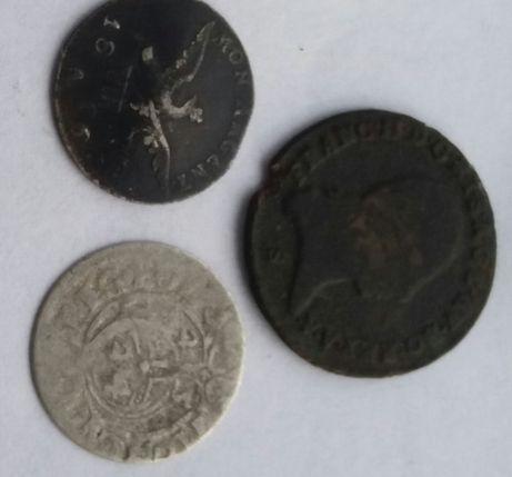 **N zestaw monet kreuzer półtorak grosz Zygmunt III,Prusy, Austria