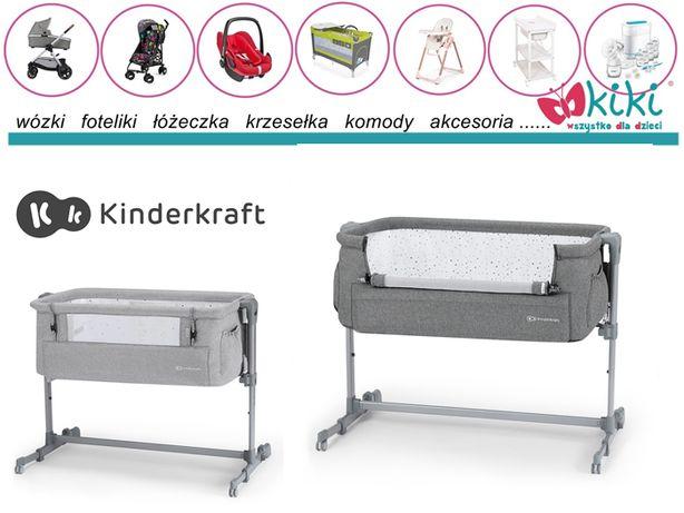 Kinderkraft łóżeczko dostawne Neste UP Grey Melange