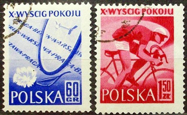 Znaczki polskie Fi 871; 874; 884; 885; 886; 888