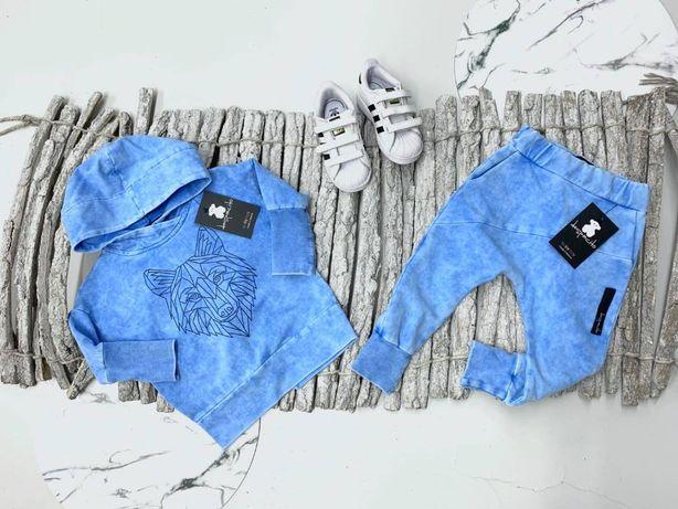 Dres Despacito niebieski wilk, r. 92,98,110,116,128