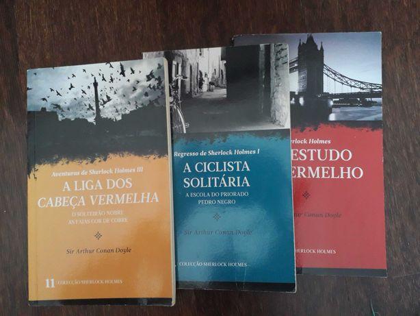 Livros da coleção Sherlock Holmes