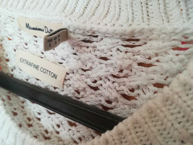 Camisola branca Massimo dutti