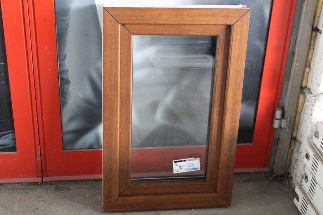 okno pcv złoty dąb 60x90 tanio - wysyłka nowe tania wysyłka