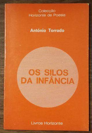 os silos da infância, antónio torrado, livros horizonte