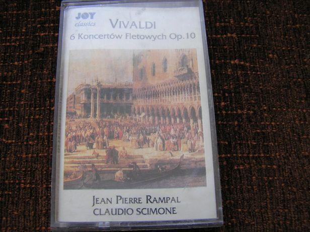 Vivaldi 6 koncertów fletowych op 10 kaseta audio magnetofonowa