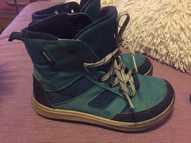 Ботинки  термо Qechua 34 р черевички деми